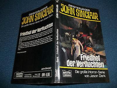 JOHN SINCLAIR***TASCHENBUCH NR.23 + AUTOGRAMM
