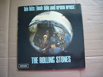ROLLING STONES - BIG HITS HIGH TIDE AND GREEN GRASS - VINYL LP, BOOKLET, STEREO