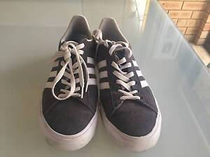 Adidas Original Canvas Skate Shoes - Grey Churchlands Stirling Area Preview
