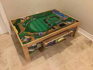 Train table and set