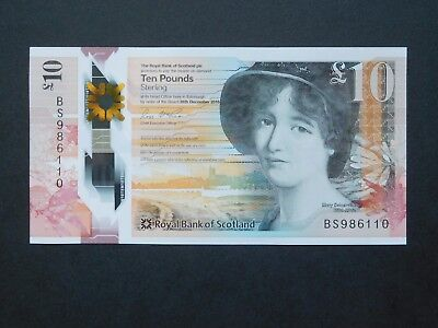 Royal Bank of Scotland £10 note - polymer