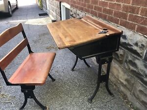 Early 1900s bench and desk