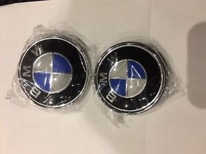BMW wheel caps, trunk and hood logos