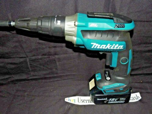 18V LXT Brushless 2,500 RPM Screwdriver MAKITA XSF05 & BL1830 Battery