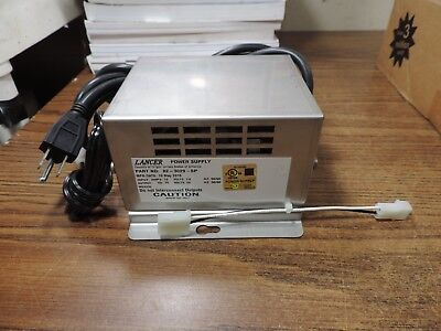Lancer 82-3029-sp Soda Fountain Dispenser Machine Resetable Power Supply 115v