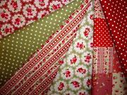 Christmas Fabric Remnants