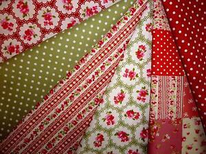 christmas fabric remnants - Vintage Christmas Fabric
