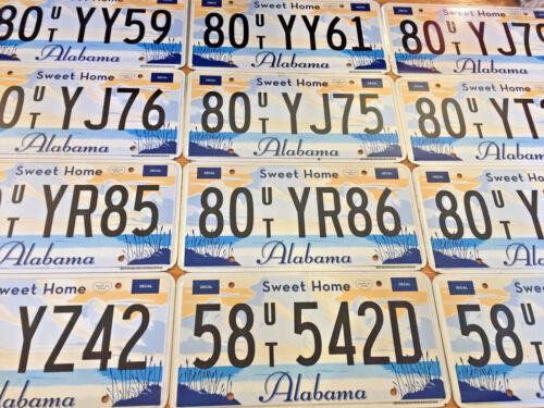 Sweet Home Alabama License Plate