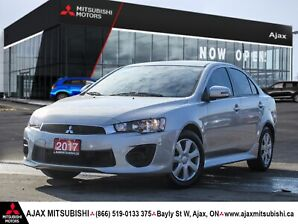 2017 MITSUBISHI LANCER ES-ACCIDENT FREE-SEVERAL AVAILABLE!!