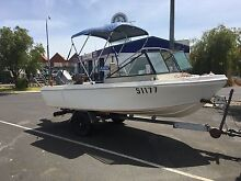 16 ft boat 70 Johnson Geographe Busselton Area Preview