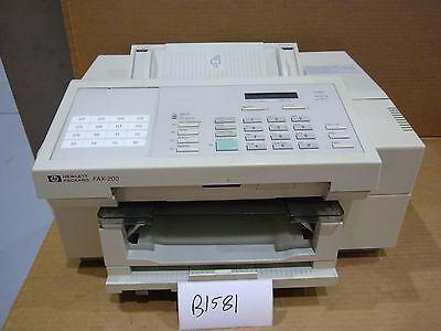 Hewlett Packard Fax-200