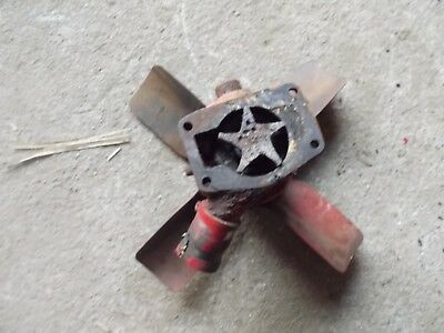 Farmall H Tractor Original Ih Ihc Water Pump Assembly Pulley For Fan Belt