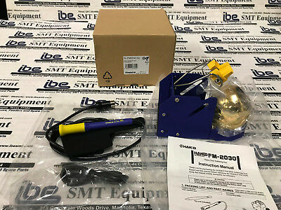 Brand New Hakko Fm-2030-02 Heavy Duty Soldering Iron Kit W Warranty Included