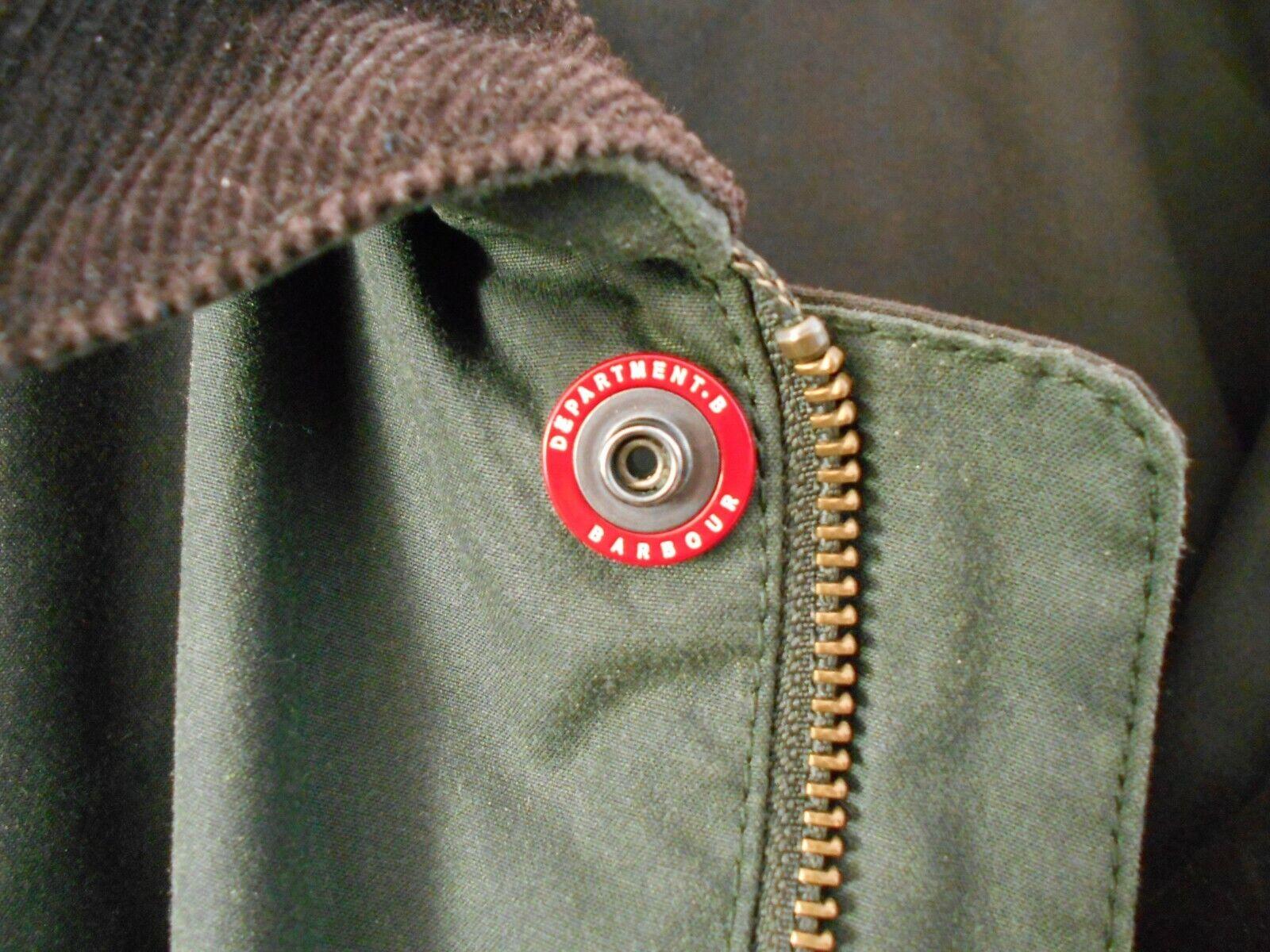 Veste barbour dept b field jacket - special -dark green - sage