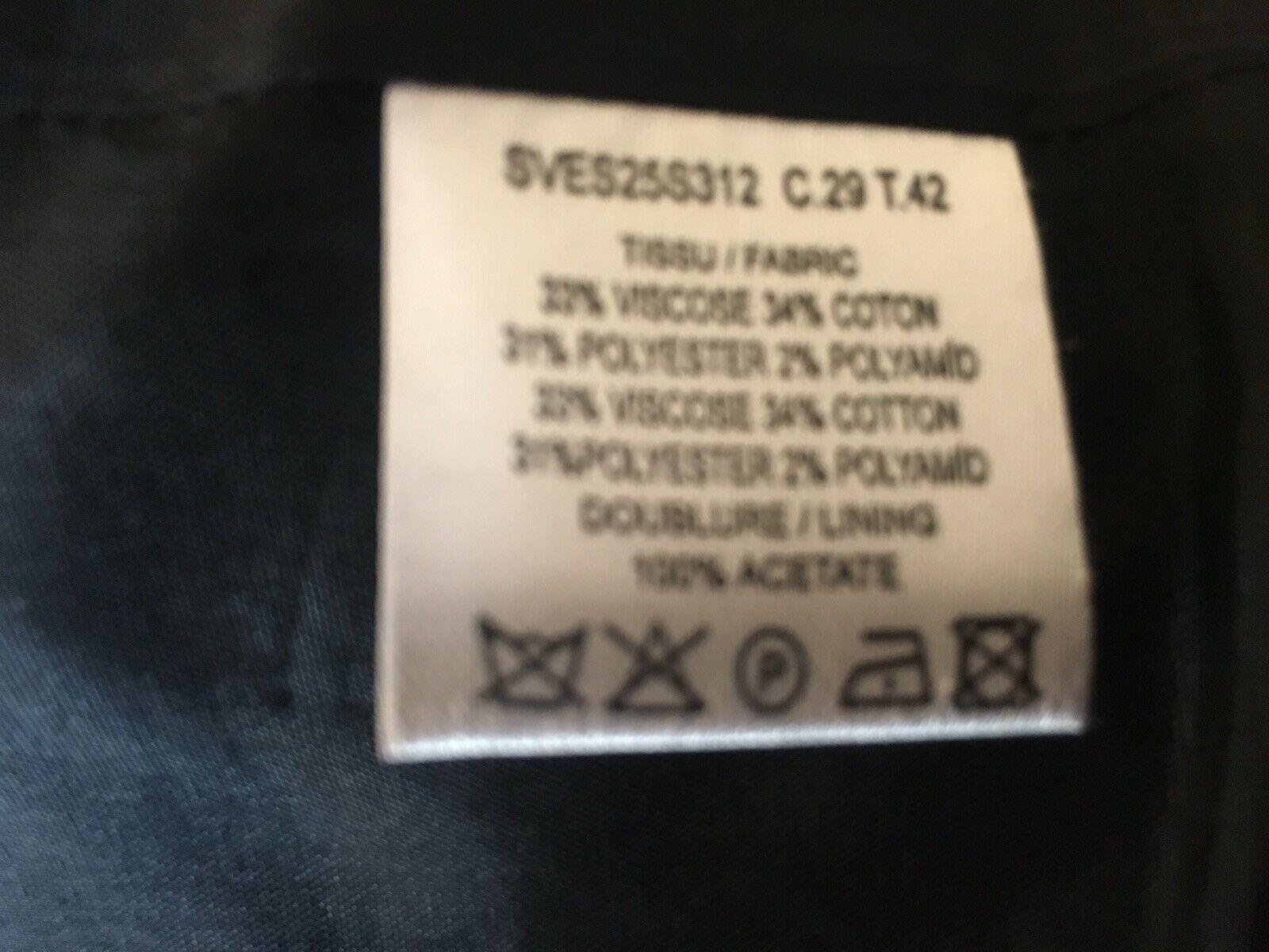 Veste zapa en tweed bleu marine taille 42