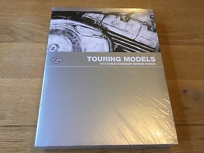 Harley Davidson Genuine Touring Service Manual 99483-13 Workshop 2013 Flhrc FLHX
