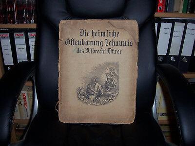 Alte Holzschnitte  Die heimliche Offenbahrung Johannis  Albrecht Dürer   1909