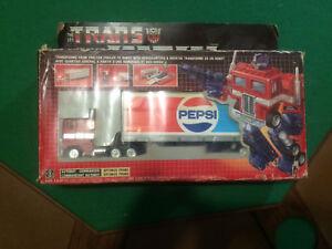 G1 Optimus Prime Pepsi (Canadian)