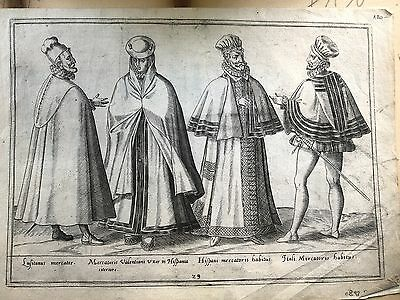 Spanien, Abraham De Bruyn - Kostüme - Spanien/Spain 1581 Ca