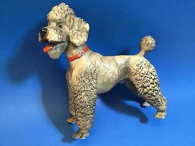 Vintage Traditional Breyer Gray Poodle Dog Figurine Made USA