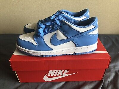 Nike Dunk Low University Blue UNC Size 7Y GS Brand New Ready To Ship