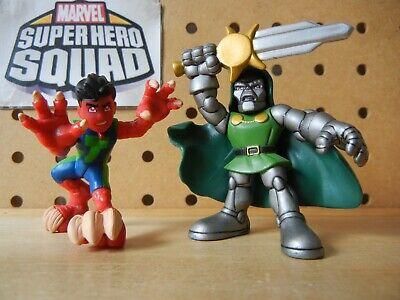 Marvel Super Hero Squad COMPLETE Wave 18: REPTIL (SHS Cartoon) & DR. DOOM, Sword
