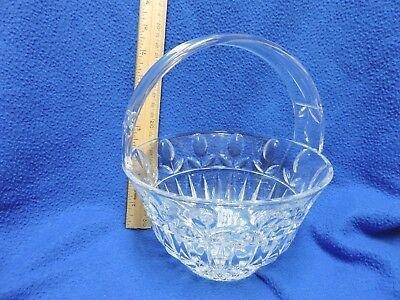 Block Crystal Tulip Basket Bowl