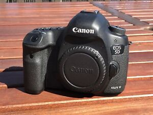 Canon 5D mark iii + grip + remote + RF flash trigger