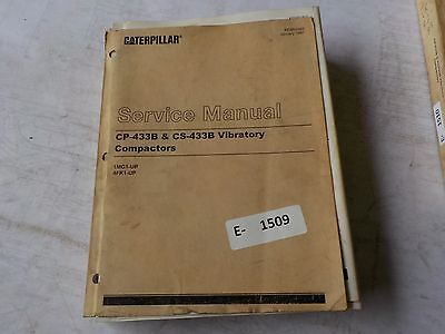 Cat CP-433B, CS-433B Service Manual