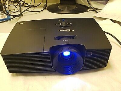 Optoma DAEWSGL Full 3D Projector -- Lamp Hours - 1133, HDMI VGA RS-232C S-Video