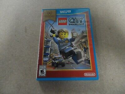 LEGO City Undercover (Nintendo Wii U) NIntendo Selects