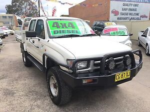 Toyota Hilux Ute 4x4 DIESEL DUAL CAB APRIL/2017 Rego many extras Clyde Parramatta Area Preview