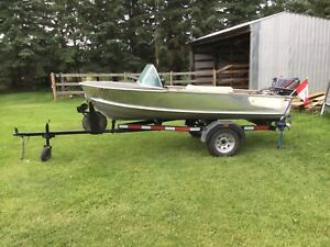 12' aluminum boat with 30hp Nissan