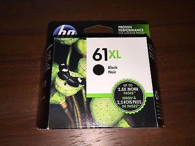 HP 61XL Black Genuine Ink Cartridge (CH563WN), High Yield - Brand New