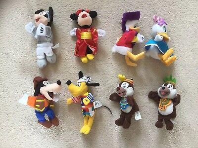 McDonalds Happy Meal Disneyland Paris 2000 Mickey Minnie Mouse plush countries
