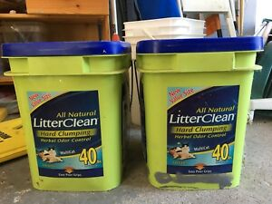 Cat Litter Hard Clumping, Odour Control, 80 pounds for $25