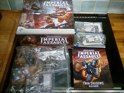 Star Wars Imperial Assault Core Set, Twin Shadows, Luke and Darth Vader