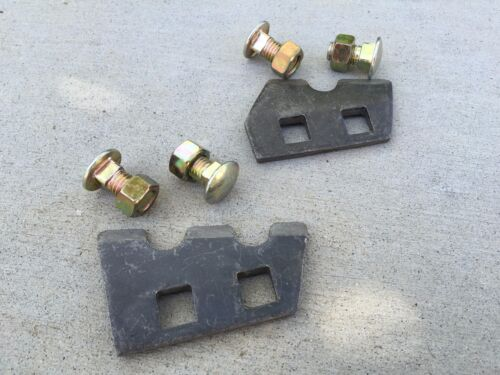 """9"""" Greenline Auger Teeth (2 pcs) a pair of 19-10091 with Hardware, Free Shipping"""