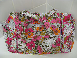 VERA BRADLEY Small Duffel Travel / Gym Bag  NEW  U Choose The Color