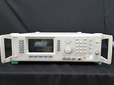 Wiltron68347b 10mhz To 20ghz Synthesized Signal Generator Opt.2a 11 9001