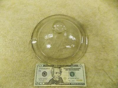 Pyrex Vacuum Glass Desiccator Jar Knob Top Lid Cover 200mm O.d. 7-1316 3120-co