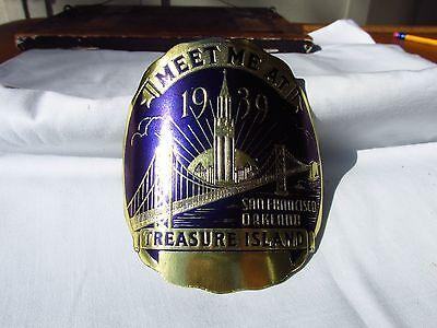 1939 GOLDEN GATE INTERNATIONAL EXPOSITION Treasure Island SAN FRANCISCO sticker