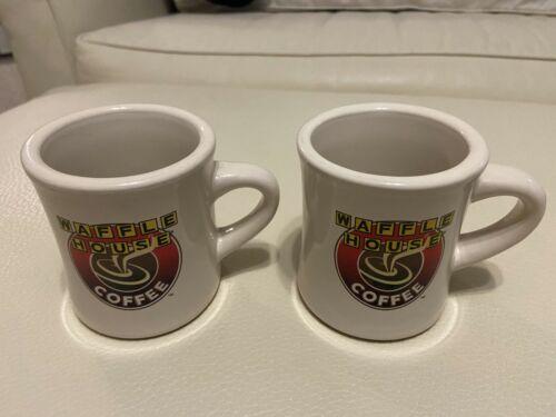 Two(2) Waffle House Mugs - Used