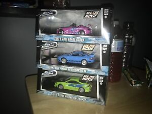 Greenlight 1:43 Fast & Furious cars