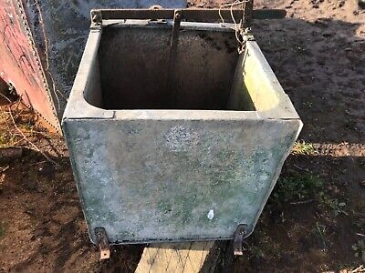 Vintage Metal Water Tank