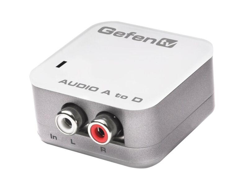 Analog Stereo Audio to Digital Audio Converter GTV-AAUD-2-DIGAUD by Gefen