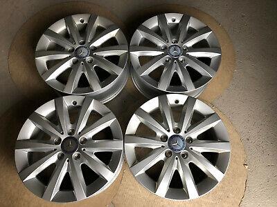 4 Originale Mercedes Alufelgen A u.B-Klasse W176 W246 16Zoll A2464010202 Nr. 61