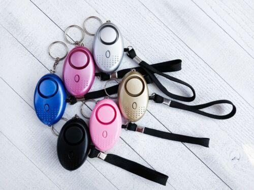 Safety Self Defense Keychain Personal Alarm 130db Unisex Free Shipping