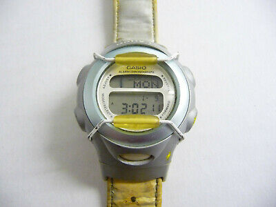 Ladies Baby G Casio digital LCD display wrist watch; Baby blue case with guard comprar usado  Enviando para Brazil