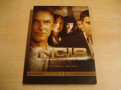 3-DISC DVD BOX / NCIS - SEIZOEN 1 - DEEL 1